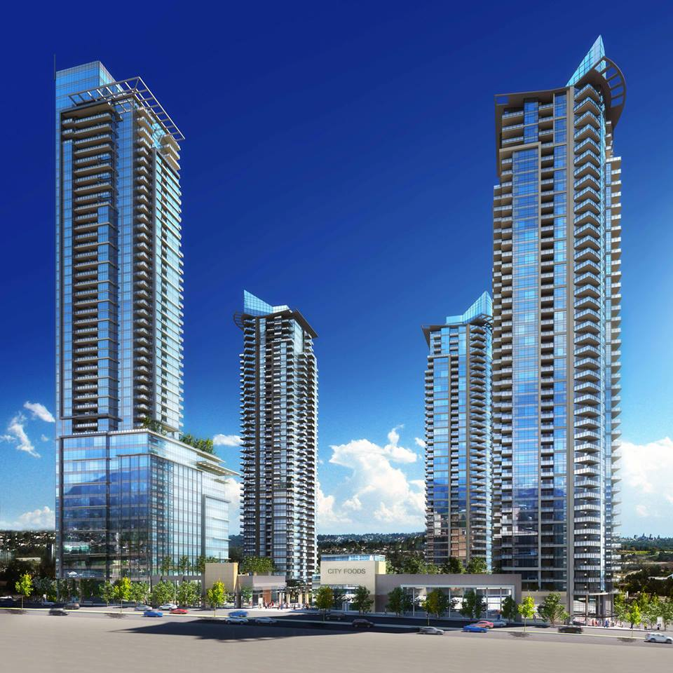 Bosa's Brand New 3 BDRM Hi-rise condo in the middle of North Burnaby