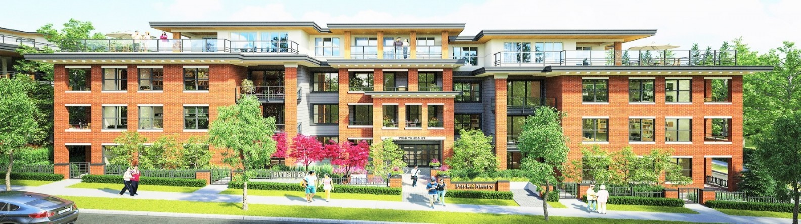 Amazing Brand New Low-Rise Condo in  the Vancouver West