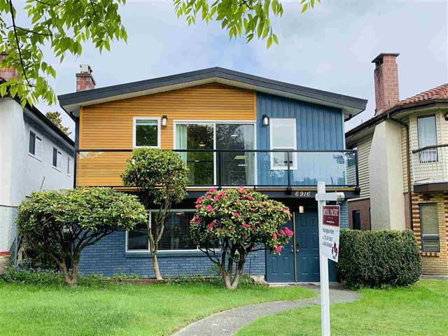 """Special """"Vancouver Special"""" fully renovated & upgraded 4 Bed + 3 Bath House in Vancouver !"""